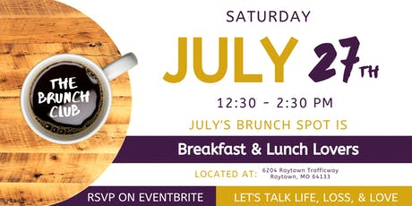 The Brunch Club KC - JULY tickets