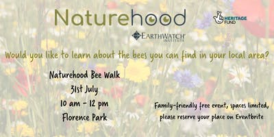Naturehood Bee Walk - Florence Park