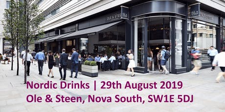 Nordic Drinks - NBCC | 29th August 2019 tickets