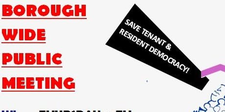 PUBLIC MEETING : CALLED BY SGTO : FOR FAIR RESIDENT INVOLVEMENT tickets