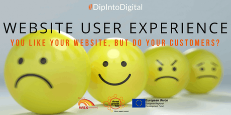 Website User experience - You like your website, but do your customers? - Weymouth - Dorset Growth Hub tickets