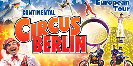 Continental Circus Berlin - Folkestone tickets