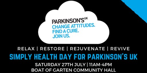 Simply Health Day for Parkinson's UK