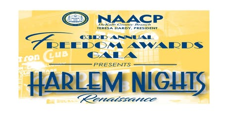 NAACP DeKalb 63rd Annual Freedom Fund Awards Gala tickets