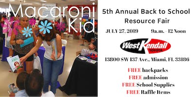 Macaroni Kid 5th Annual Back to School Resource Fair