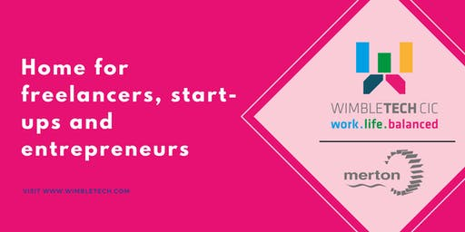 Freebie Friday for Startups, Entrepreneurs + Micro Businesses at Wimbletech!