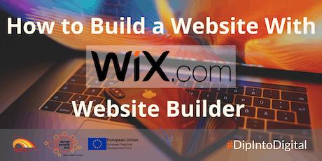 How to Build Websites With Wix.com Website Builder - Wimborne: Dorset Growth Hub tickets