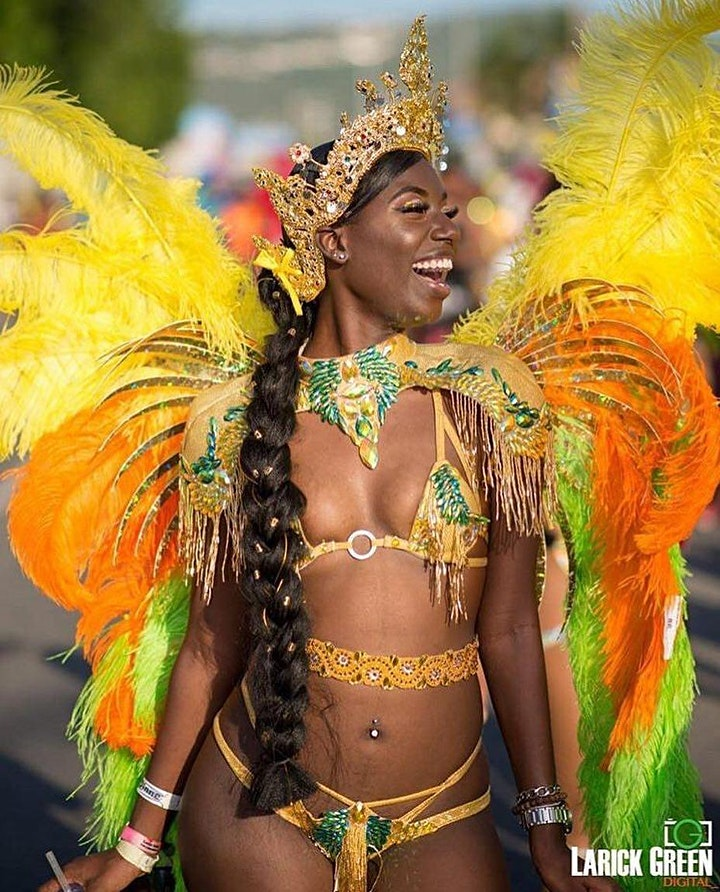 Carnival Jamaica Hair Glam image