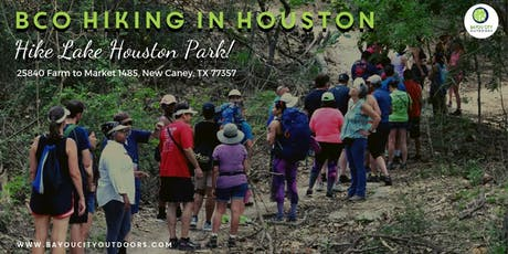 BCO Hiking in Houston - Hike Lake Houston Park! tickets