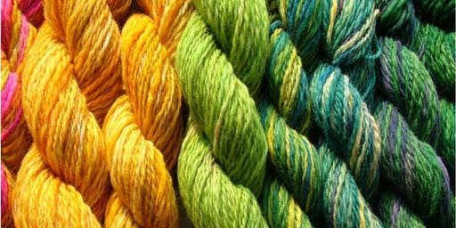 Natural Dyeing Workshop / Gweithdy Lliwio Naturiol