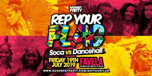 Rep Your Flag - Soca vs Dancehall Summer Fete