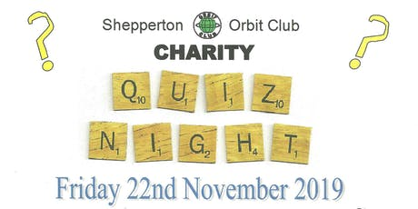 Charity Quiz Night tickets