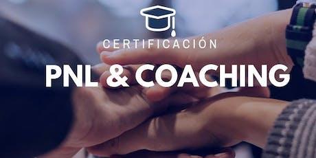 Charla gratuita- Curso SEMI presencial de PNL & Coaching entradas