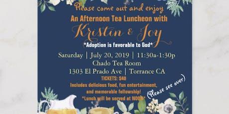 Adoption Tea Party tickets