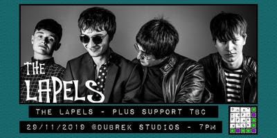 The Lapels plus support at Dubrek Studios, Derby.