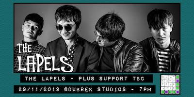 The Lapels plus support at Dubrek Studios, Derby.