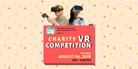 Charity VR Competition tickets