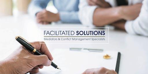 October 2019 Family Mediation Basics
