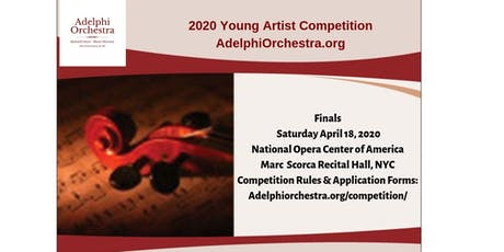 Adelphi Orchestra 2019-20   Young Artist Competition Finals  tickets