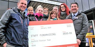 Thameslink sponsored walk for Noah - homeless charity
