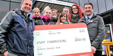 Thameslink sponsored walk for Noah - homeless charity tickets