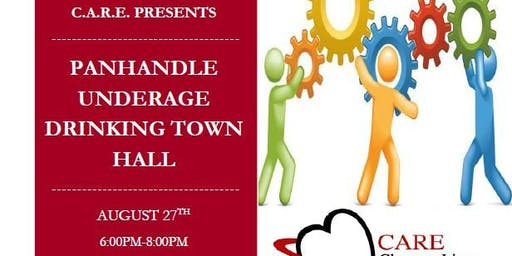 Panhandle Underage Drinking Town Hall