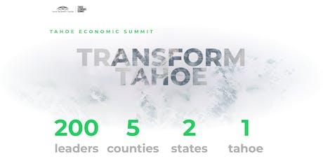2019 Tahoe Economic Summit tickets