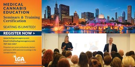 Illinois Medical/Recreational Marijuana Dispensary Operations Training - Chicago tickets