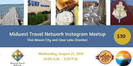 Mason City and Clear Lake, IA Instagram Meet-Up tickets