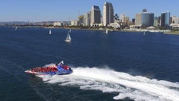 Patriot Jet Boat Thrill Ride on San Diego Bay