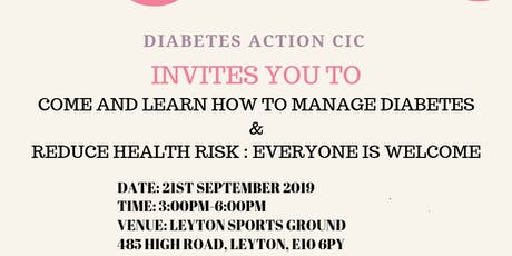 DIABETES AWARENESS WORKSHOP tickets