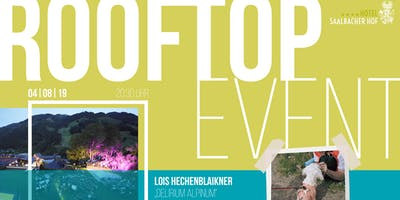 "Rooftop Event - Lois Hechenblaikner ""Delirium Alpinum"""