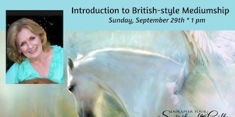 Introduction to British-style Mediumship with Rev. Maeda Jones tickets