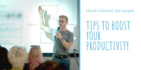 How to boost your business productivity using the Cloud and some very simple Office 365 tricks tickets