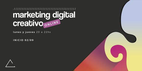 Marketing Digital Creativo (Online)  entradas