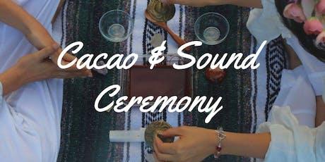 Cacao & Sound Ceremony tickets