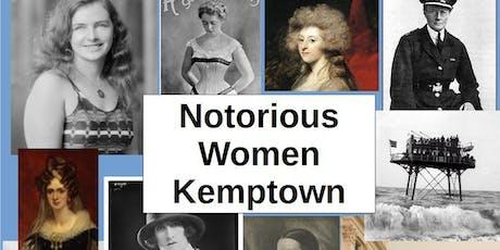 Notorious Women of Kemptown walking tour tickets
