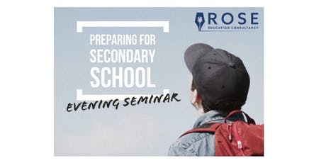 Parents' Seminar: Preparing for Secondary School tickets