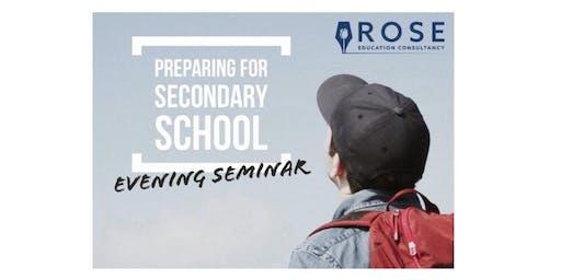 Parents' Seminar: Preparing for Secondary School