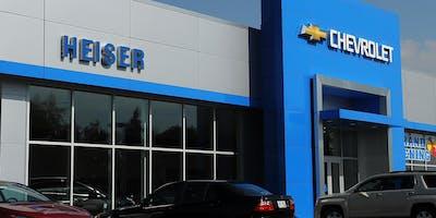 August Savings at Heiser Chevrolet in West Bend
