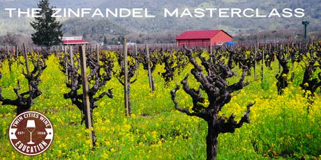 The Zinfandel Masterclass tickets