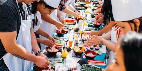 """Curso de Sushi """"Chef por 1 día"""" by El Japo tickets"""