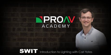 Introduction to Lighting with Carl Yates tickets