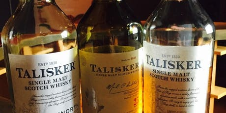 FRINGE Scottish Whisky & Food Evening: An Evening with Talisker tickets