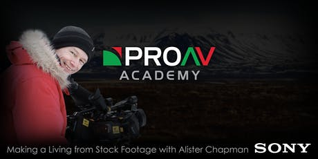 Making a Living from Stock Footage with Alister Chapman tickets