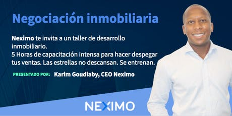 Taller de Negociacion Inmobiliaria Ecatepec entradas