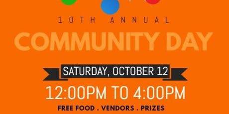 10th Annual Community Day tickets
