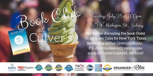 Organized by Olive Summer Book Club - Outer Order, Inner Calm