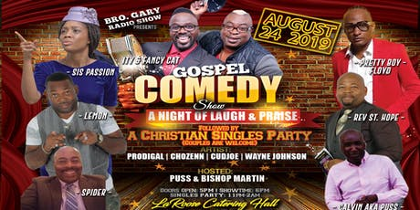 Bro. Gary Gospel COMEDY SHOW tickets