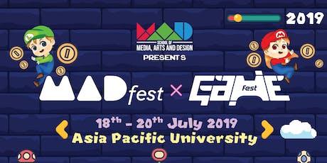 MadFest X GameFest 2019 tickets